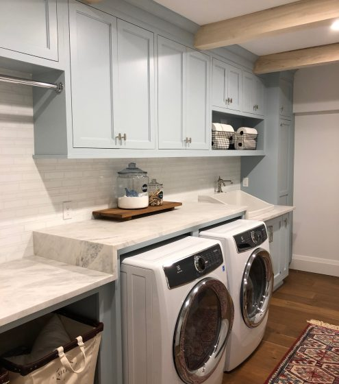 Space Lift: Laundry Room