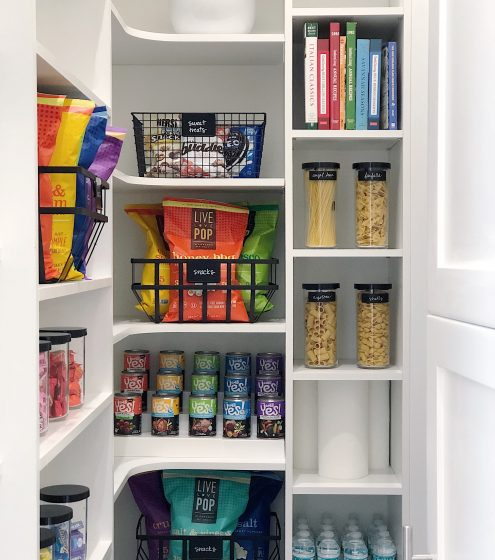 Space Lift: Model Pantry